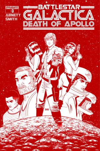 Battlestar Galactica: Death of Apollo #3 (25 Copy Smith Cylon Cover)