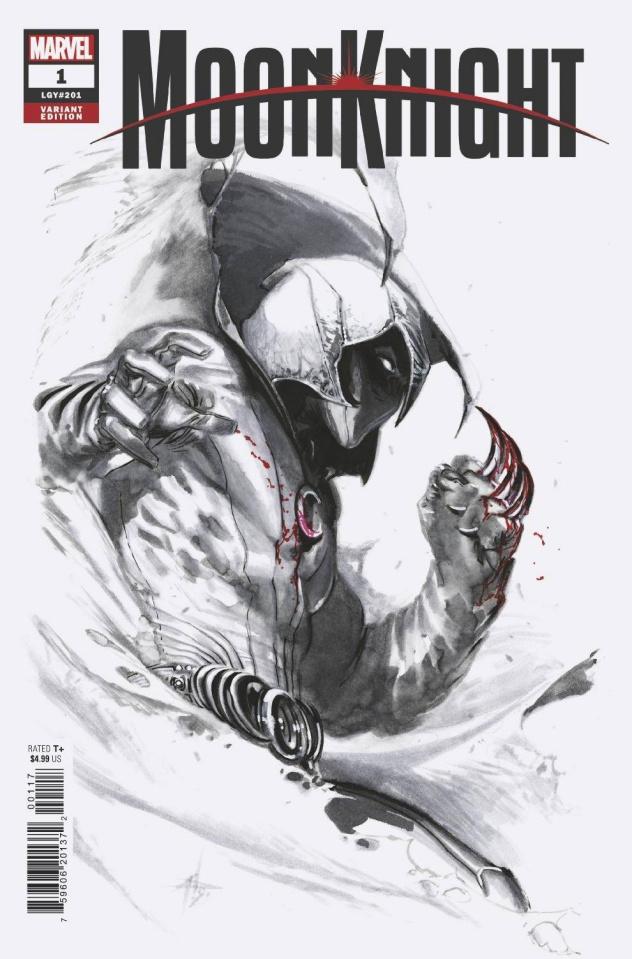 Moon Knight #1 (Dell'otto Cover)