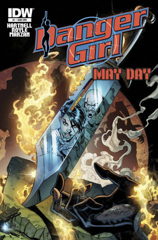 Danger Girl: May Day #1 (Subscription Cover)