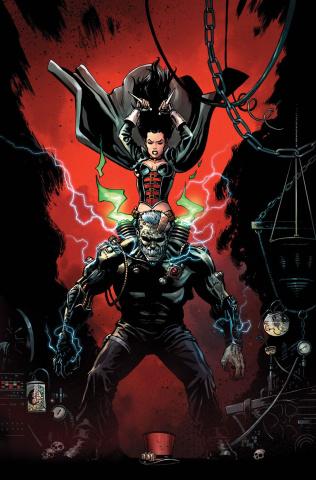Grimm Fairy Tales: Van Helsing vs. Frankenstein #3 (Kivela Cover)