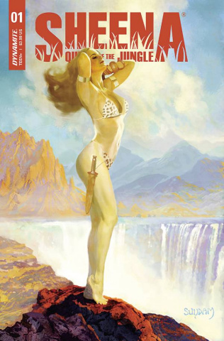 Sheena: Queen of the Jungle #1 (Suydam Cover)