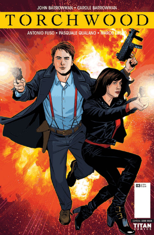 Torchwood #3 (Yates Cover)