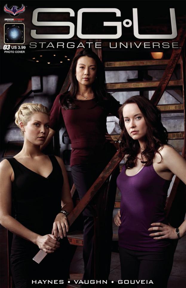 Stargate Universe: Back to Destiny #3 (Photo Cover)