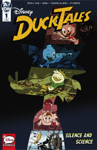 DuckTales: Silence and Science #1 (10 Copy DuckTales Cover)