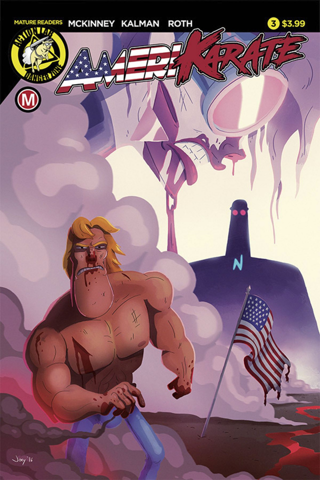 Amerikarate #3 (Roth Cover)