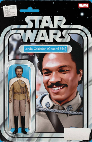 Star Wars #8 (Christopher Action Figure Cover)