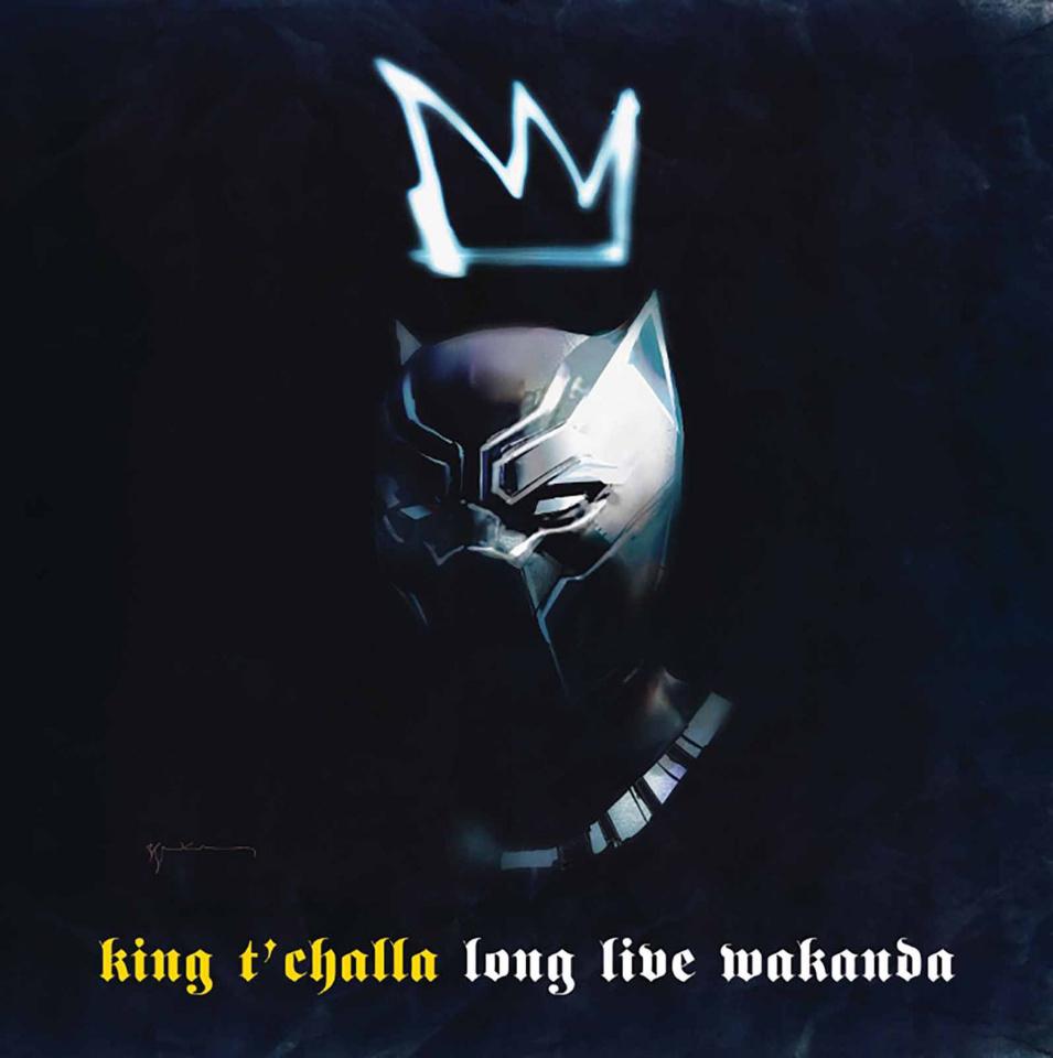 Black Panther #7 (Sienkiewicz Hip Hop Cover)