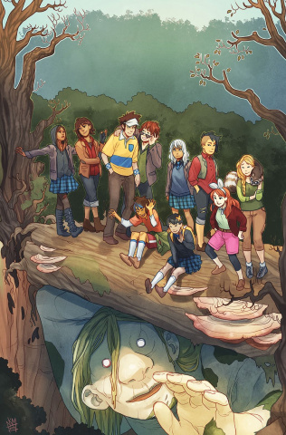 Lumberjanes / Gotham Academy #3 (Subscription Matthews Cover)