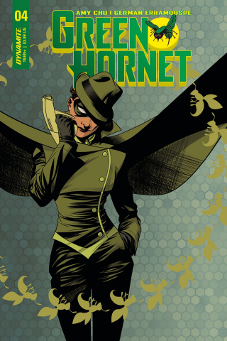 Green Hornet #4 (McKone Cover)