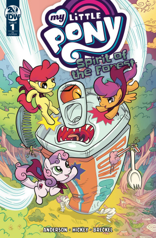 My Little Pony: Spirit of the Forest #1 (10 Copy Cover)