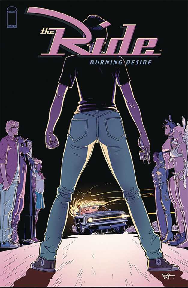The Ride: Burning Desire #1 (Hillyard Cover)