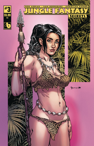 Jungle Fantasy: Secrets #3 (Kit Cover)