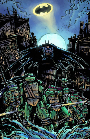 Batman / Teenage Mutant Ninja Turtles #1 (Variant Cover)