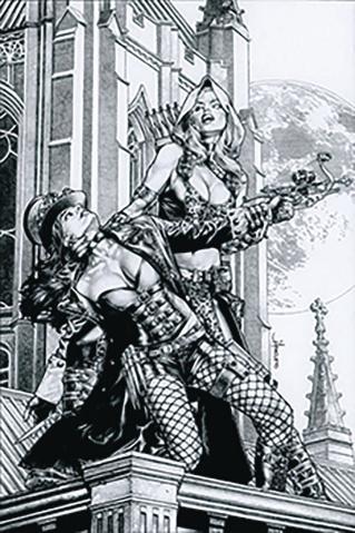 Van Helsing vs. Robyn Hood #3 (Anacleto Cover)
