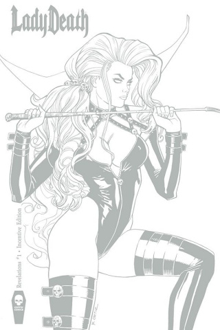 Lady Death: Revelations #1 (10 Copy Ortiz Cover)