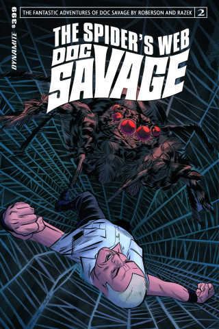 Doc Savage: The Spider's Web #2 (Torres Cover)