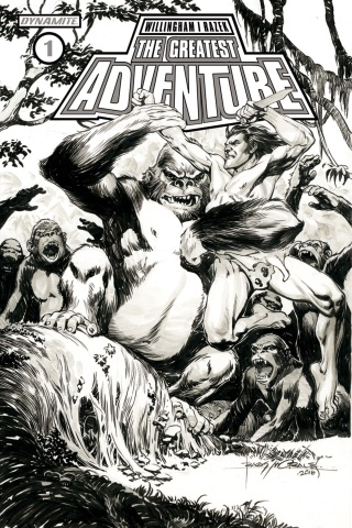 The Greatest Adventure #1 (20 Copy Morales B&W Cover)
