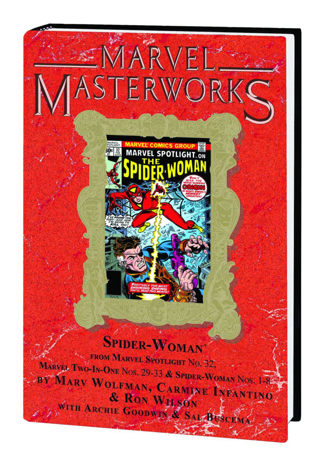 Spider-Woman Vol. 1 (Marvel Masterworks)