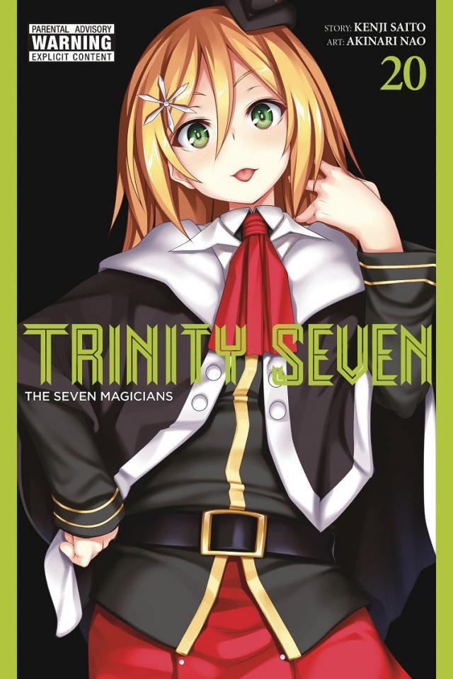 Trinity Seven: The Seven Magicians Vol. 20