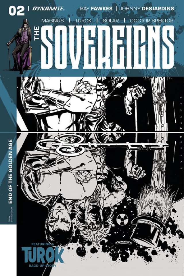 The Sovereigns #2 (10 Copy Fornes B&W Cover)