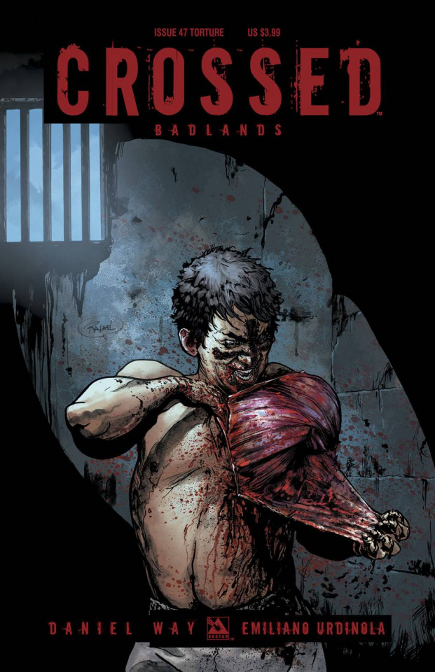 Crossed: Badlands #47 (Torture Cover)