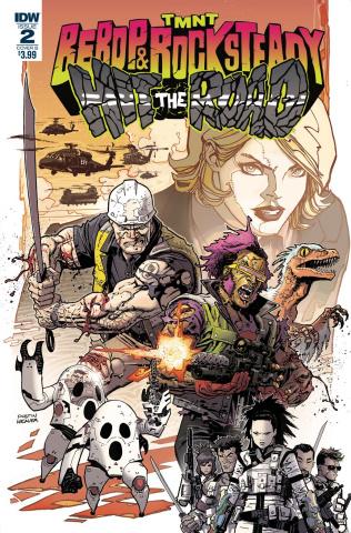 Teenage Mutant Ninja Turtles: Bebop and Rocksteady Hit the Road #2 (Weaver Cover)