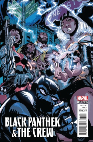 Black Panther: The Crew #1 (Scott Cover)