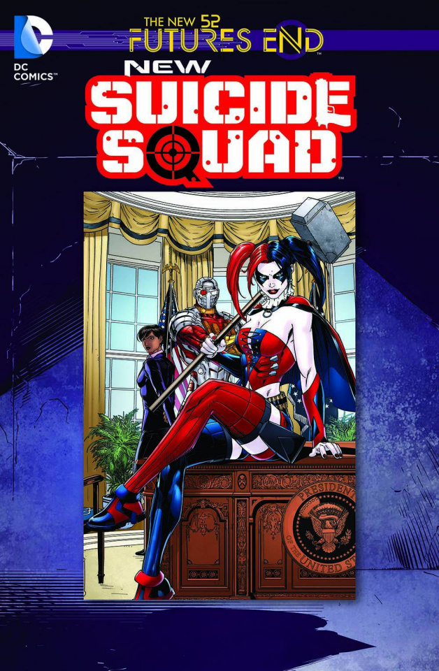 New Suicide Squad: Future's End #1 (Standard Cover)