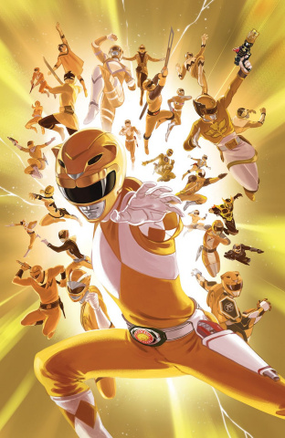Mighty Morphin' Power Rangers #28 (25 Copy Villa Cover)