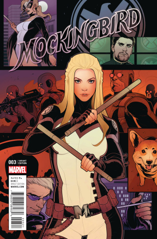 Mockingbird #3 (Torque Cover)