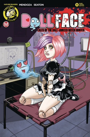 Dollface #11 (Garcia Pin Up Cover)