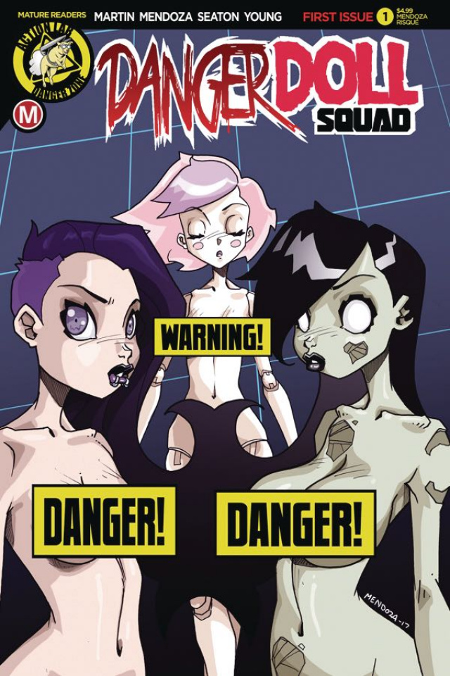 Danger Doll Squad #1 (Mendoza Risque Cover)