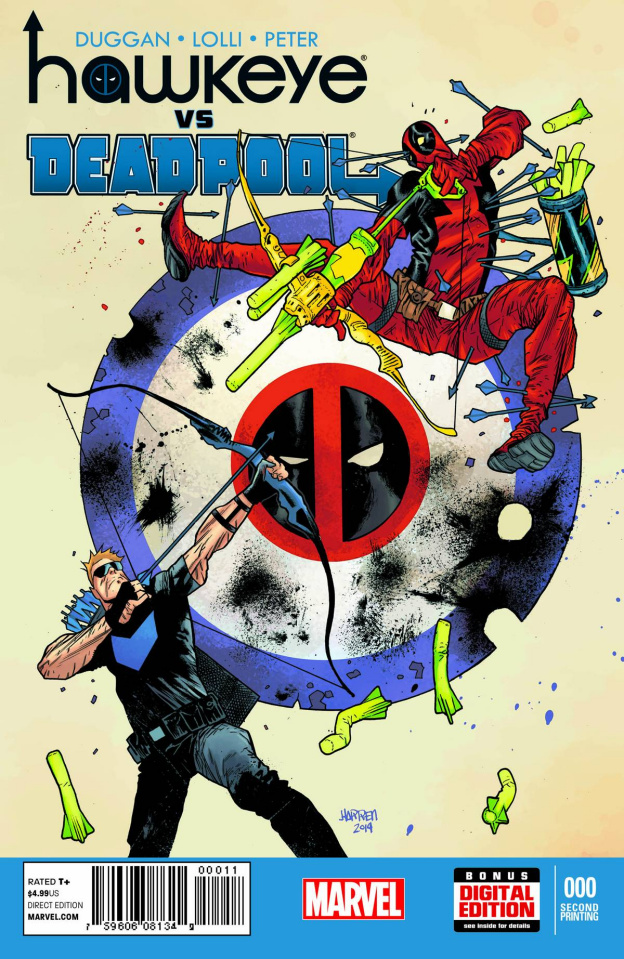 Hawkeye vs. Deadpool #0 (2nd Printing)