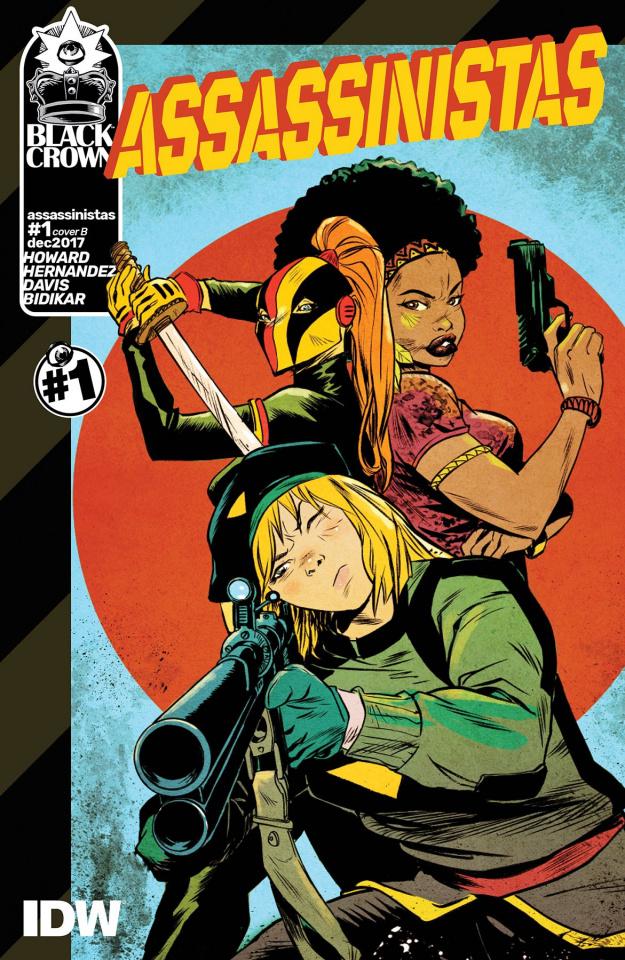Assassinistas #1 (Greene Cover)