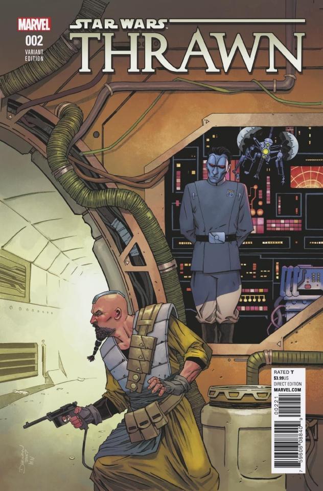 Star Wars: Thrawn #2 (Shalvey Cover)
