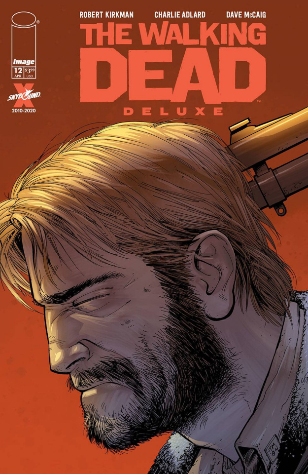 The Walking Dead Deluxe #12 (Moore & McCaig Cover)
