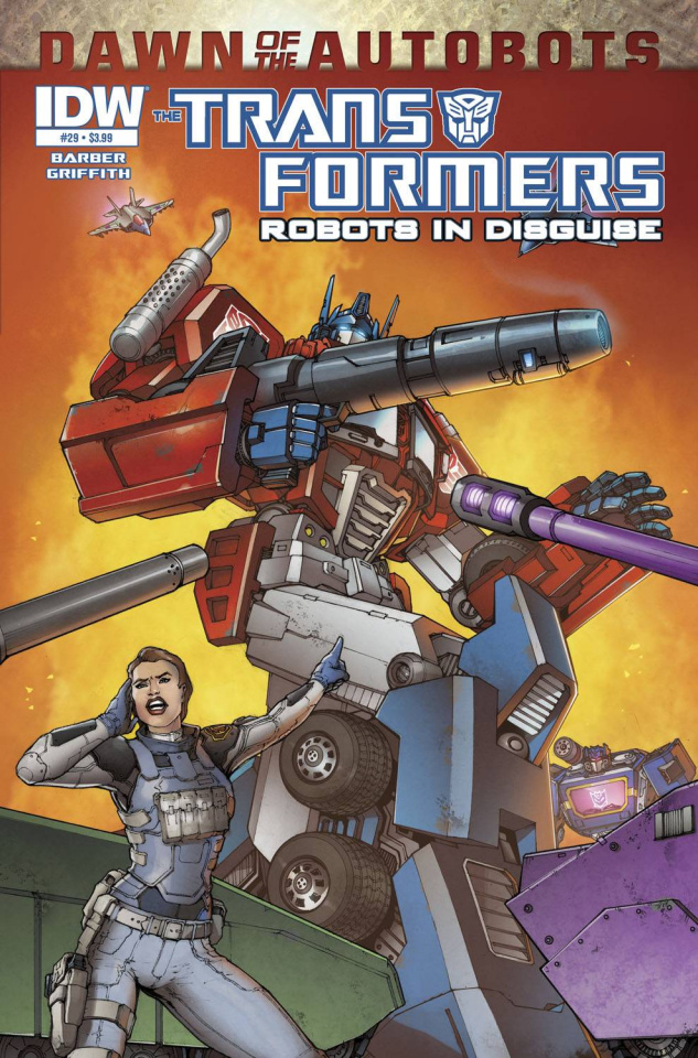 The Transformers: Robots in Disguise #29: Dawn of the Autobots