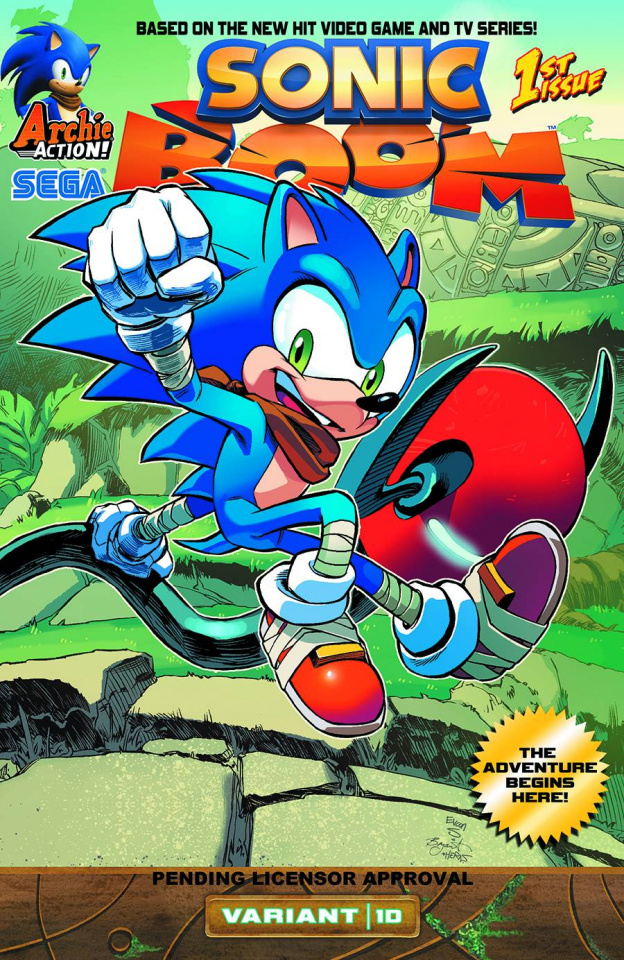 Sonic Boom #1: Here Comes the Boom Part 4 (Variant Cover)