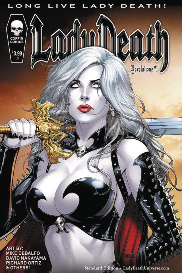 Lady Death: Revelations #1