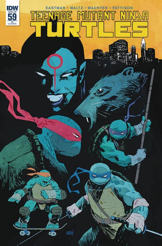Teenage Mutant Ninja Turtles #59 (10 Copy Cover)