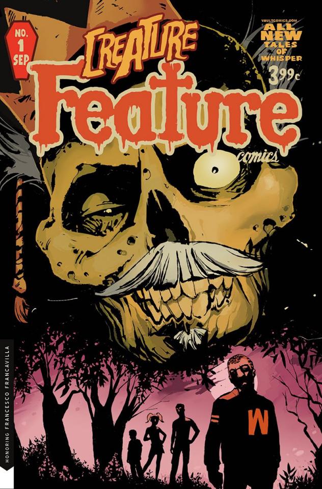 Cult Classic: Creature Feature #1 (Tim Daniel Cover)