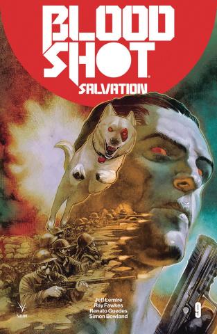 Bloodshot: Salvation #9 (Guedes Cover)