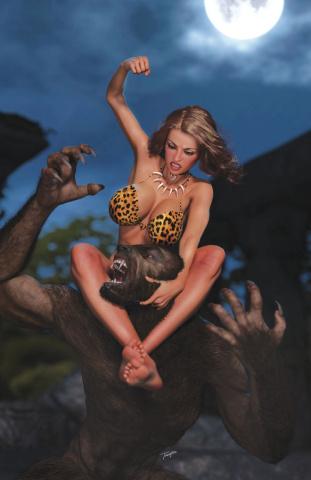 Cavewoman: Lycan Run #1 (Taylor Cover)