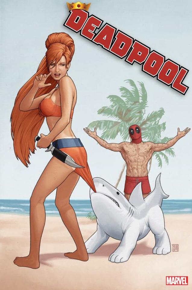 Deadpool #1 (Christopher Cover)