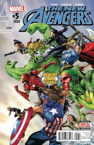 New Avengers #5 (Jimenez 2nd Printing)