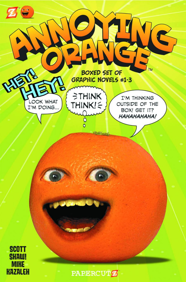 Annoying Orange Vols. 1-4