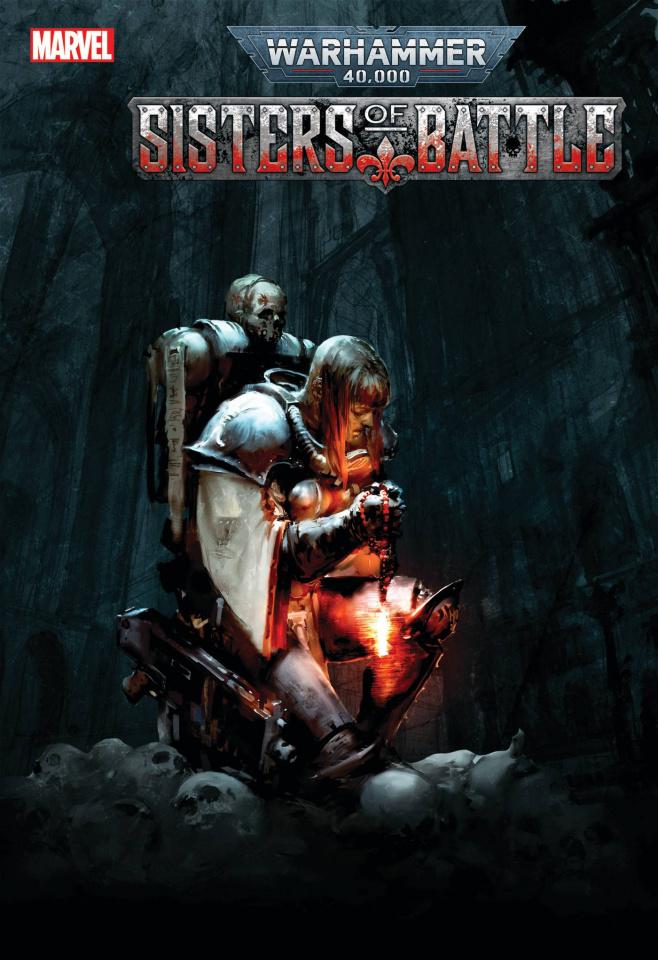 Warhammer 40,000: Sisters of Battle #3 (Games Workshop Cover)