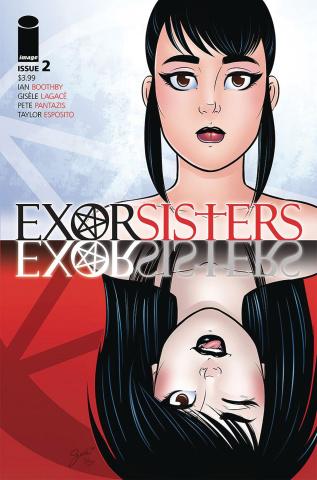 Exorsisters #2 (Lagace & Pantazis Cover)