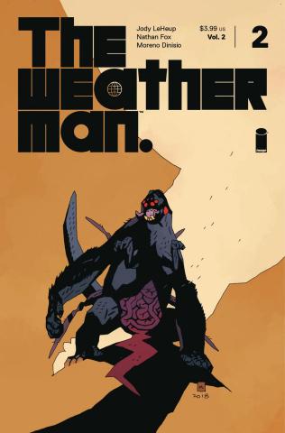 The Weatherman #2 (Mignola Cover)