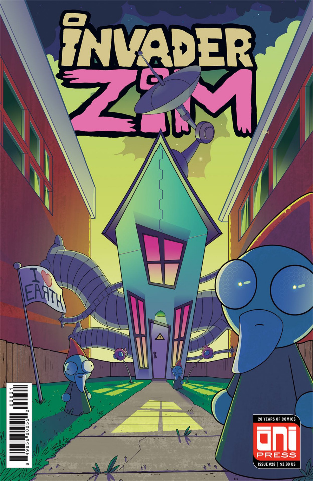 Invader Zim #28 (Sygh Cover)